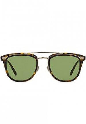 Солнцезащитные очки JIMMY CHOO. Цвет: коричневый