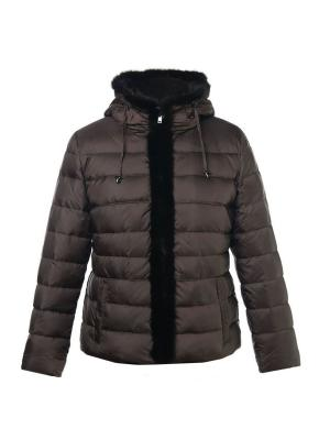 Куртка City Classic. Цвет: коричневый