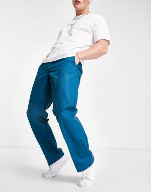 Голубые брюки Orginal 874-Голубой Dickies