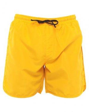 Шорты для плавания ANERKJENDT. Цвет: оранжевый