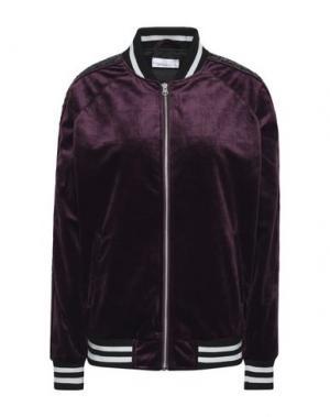 Куртка GEORGE J. LOVE. Цвет: баклажанный
