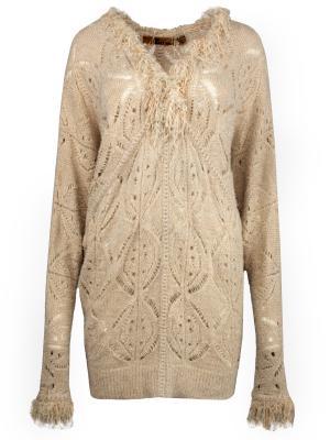 Пуловер John Galliano. Цвет: бежевый