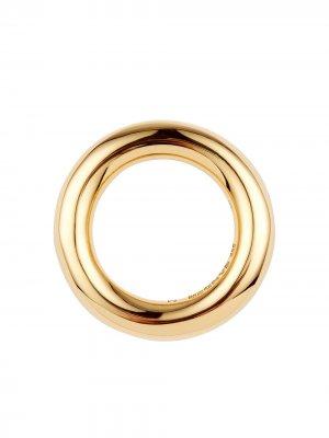 Classic 2 smooth ring Jil Sander. Цвет: золотистый