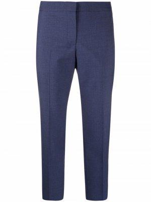 Straight-leg wool trousers Alexander McQueen. Цвет: черный