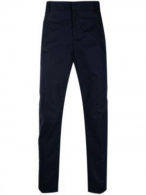 Узкие брюки чинос Daniele Alessandrini. Цвет: синий