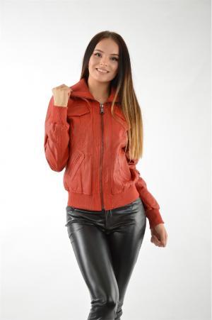 Куртка Isaco & Kawa. Цвет: красный