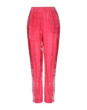 Повседневные брюки ATTIC AND BARN. Цвет: фуксия