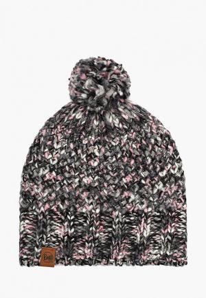 Шапка Buff Knitted & Fleece Hat Margo. Цвет: разноцветный