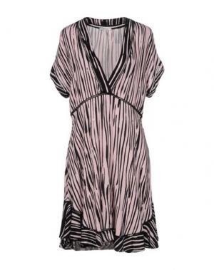 Короткое платье ELLA MOSS. Цвет: розовый