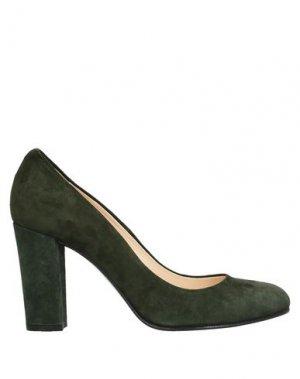 Туфли ROBERTO FESTA. Цвет: темно-зеленый