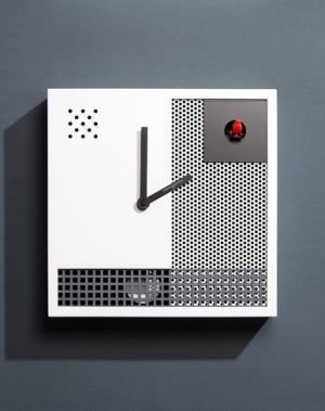 Настенные часы DIAMANTINI & DOMENICONI. Цвет: белый