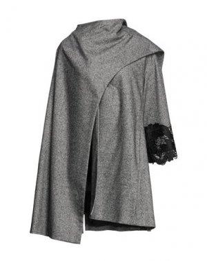 Пальто BABYLON. Цвет: серый