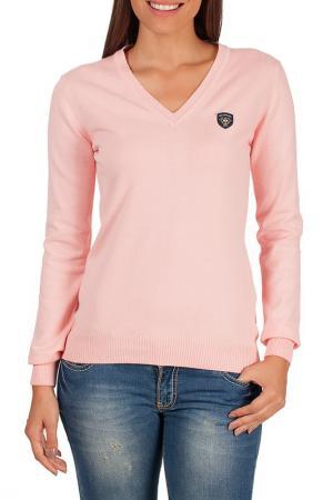 Пуловер Galvanni. Цвет: розовый