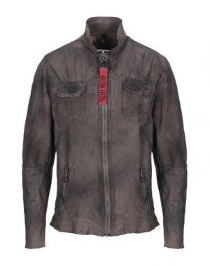 Куртка FREAKY NATION. Цвет: свинцово-серый