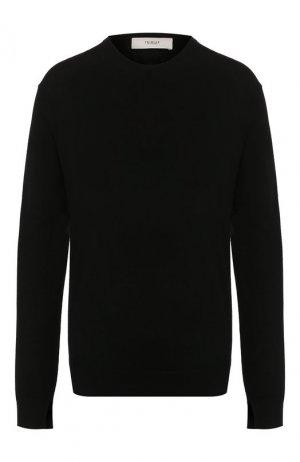 Шерстяной пуловер Pringle Of Scotland. Цвет: черный