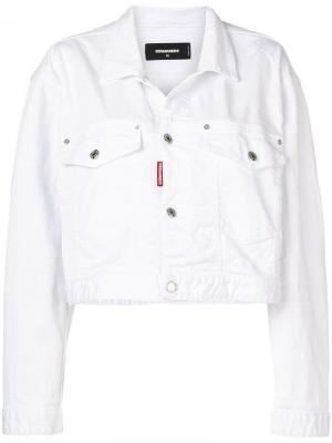 Укороченная джинсовая куртка Dsquared2