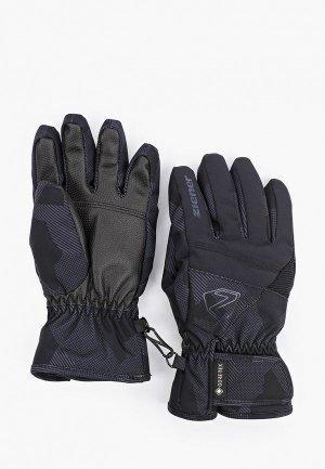 Перчатки Ziener LEIF GTX. Цвет: черный