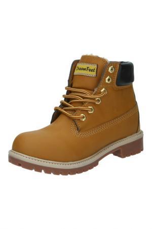 Ботинки DreamFeet. Цвет: светло-коричневый