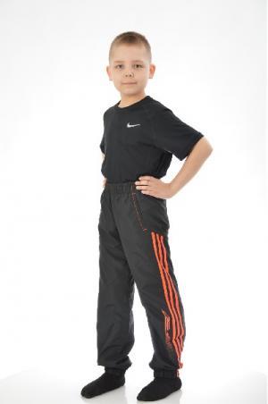 Брюки YB F50 WV PT CH adidas. Цвет: черный