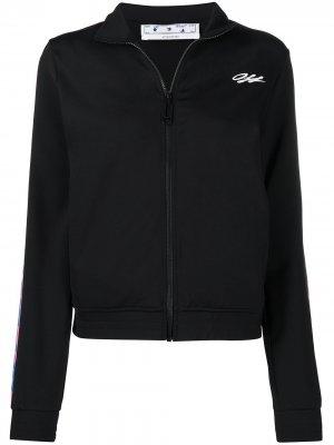 Спортивная куртка Athleisure Arrow Off-White. Цвет: 1084 черный multicolor