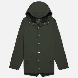 Мужская куртка дождевик Jacket Rains. Цвет: зелёный