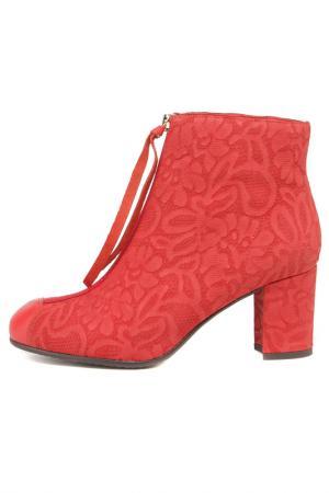Ботинки Berkonty. Цвет: красный