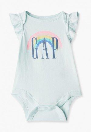 Боди Gap. Цвет: бирюзовый