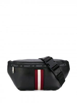 Поясная сумка Hakab с логотипом Bally. Цвет: черный
