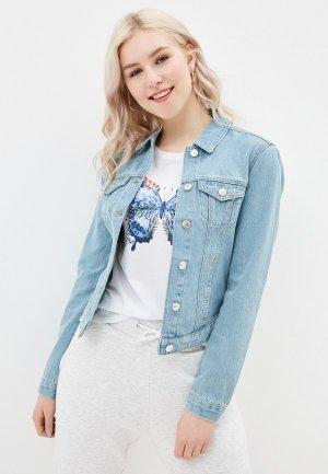Куртка джинсовая Mavi DAPHNE. Цвет: голубой
