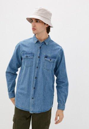 Рубашка джинсовая Rip Curl SEARCHERS DENIM L/S SHIRT. Цвет: голубой