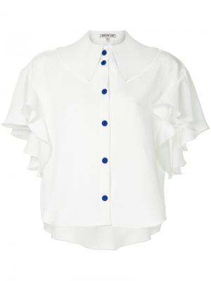 Рубашка Absurd Edeline Lee. Цвет: белый