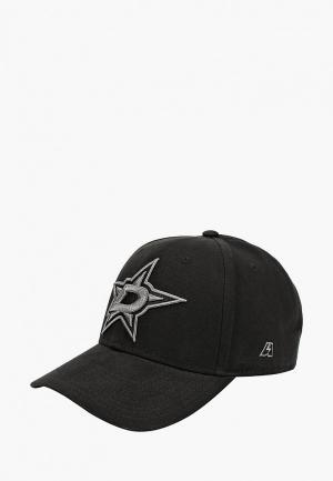 Бейсболка Atributika & Club™ NHL Dallas Stars. Цвет: черный