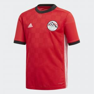 Домашняя игровая футболка сборной Египта Performance adidas. Цвет: красный