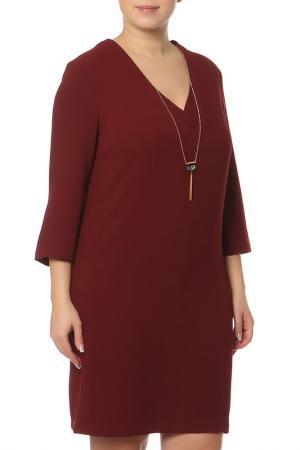 Платье MANGO VIOLETA. Цвет: красный