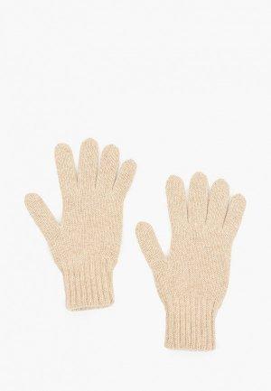 Перчатки Снег Идёт. Цвет: бежевый