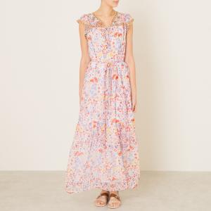 Платье SAMSA ANTIK BATIK. Цвет: набивной рисунок