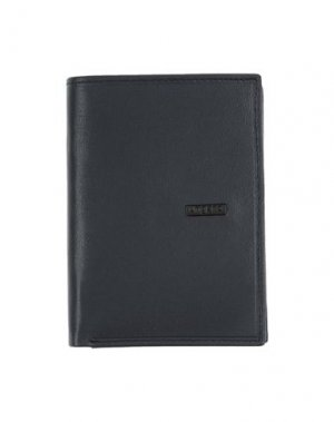 Бумажник UNGARO. Цвет: темно-синий