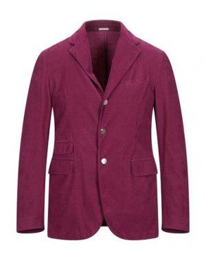 Пиджак MASSIMO ALBA. Цвет: пурпурный