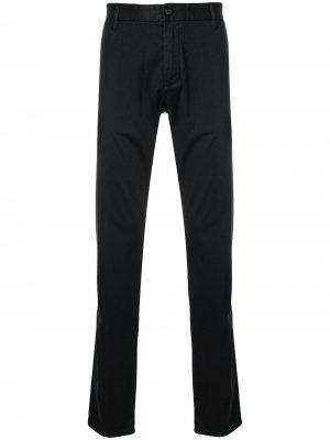 Классические брюки чинос Emporio Armani. Цвет: черный