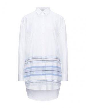 Pубашка GANT. Цвет: белый