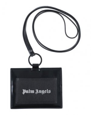 Чехол для документов PALM ANGELS. Цвет: черный