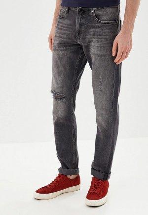 Джинсы Calvin Klein Jeans Slim. Цвет: серый