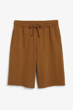 Спортивные шорты Monki. Цвет: коричневый