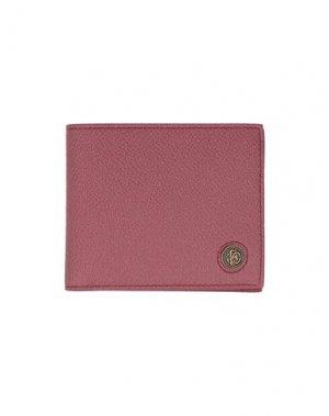 Бумажник ROBERTO CAVALLI. Цвет: кирпично-красный