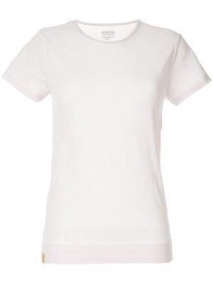 Бесшовная футболка Monreal London. Цвет: розовый