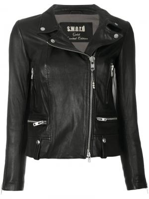 Куртка с молниями S.W.O.R.D 6.6.44. Цвет: чёрный
