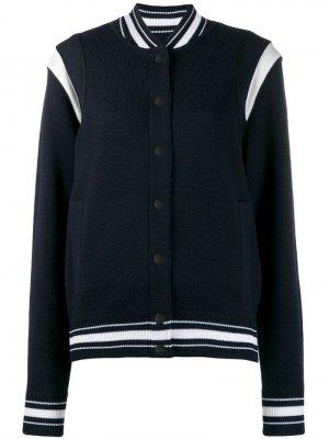 Куртка-бомбер Givenchy. Цвет: синий