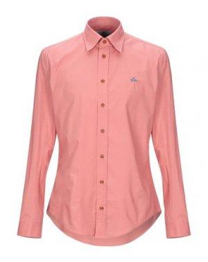 Pубашка VIVIENNE WESTWOOD. Цвет: пастельно-розовый