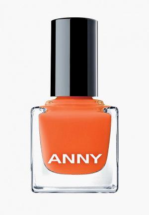 Лак для ногтей Anny тон 170.05 пылкий красно-оранжевый. Цвет: оранжевый