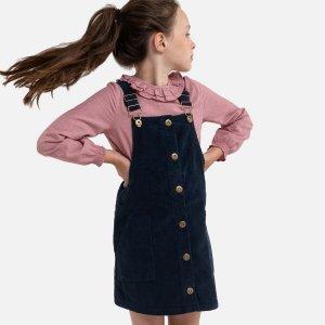 Платье-комбинезон La Redoute. Цвет: синий